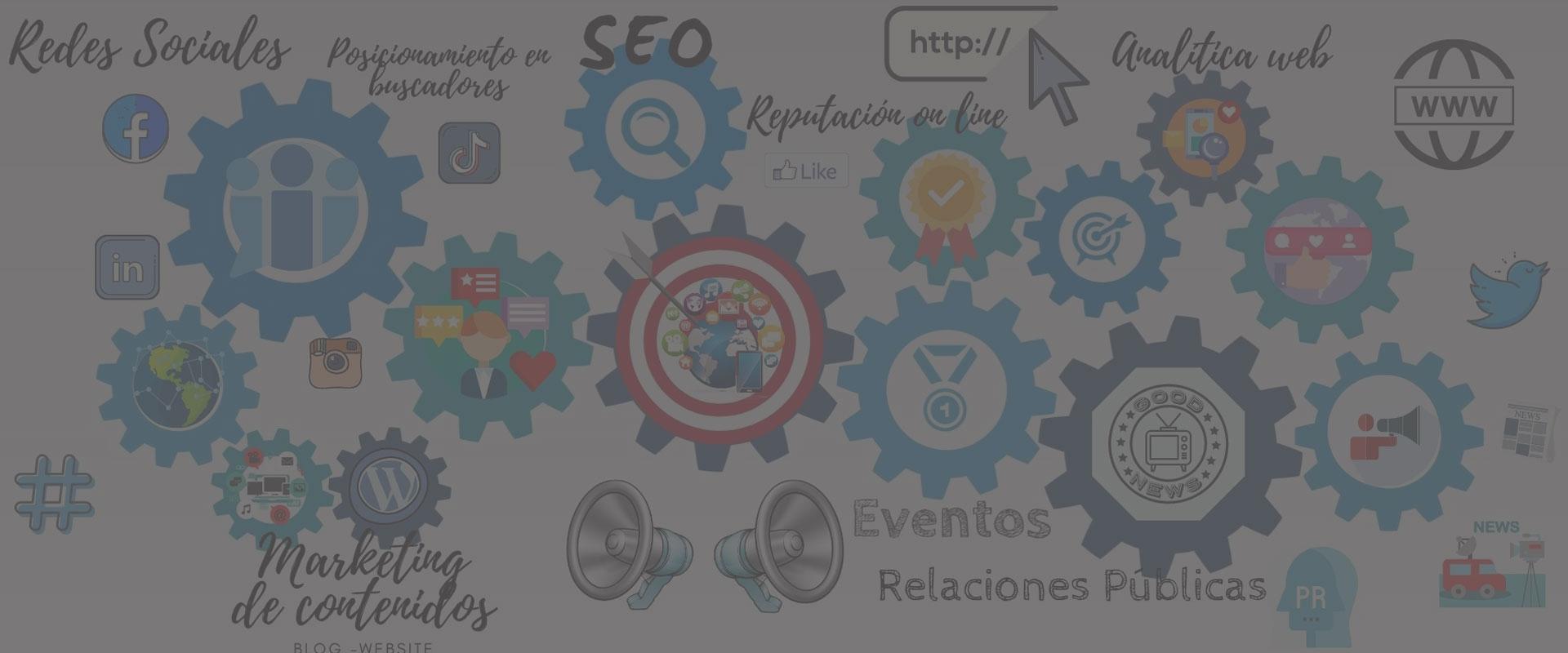 Somos especialistas en Relaciones Públicas, Marketing de contenidos y gestión de redes sociales